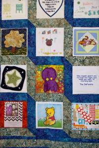 baby shower memory quilt