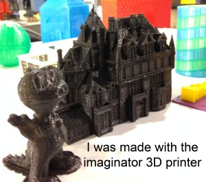 3D printer, by imaginator