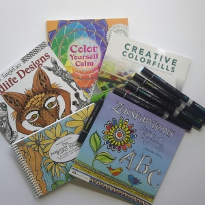 Shop for Coloring Books and Markers
