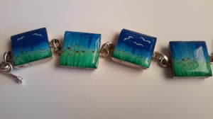 landscape cane turned into a bracelet