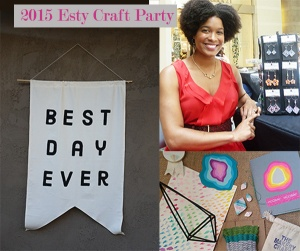 #Etsy Craft Party 2015