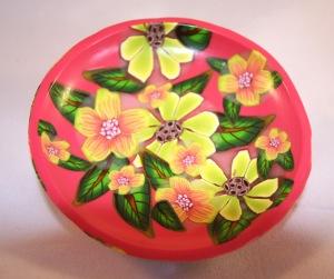 flat bowl by Linda Prais
