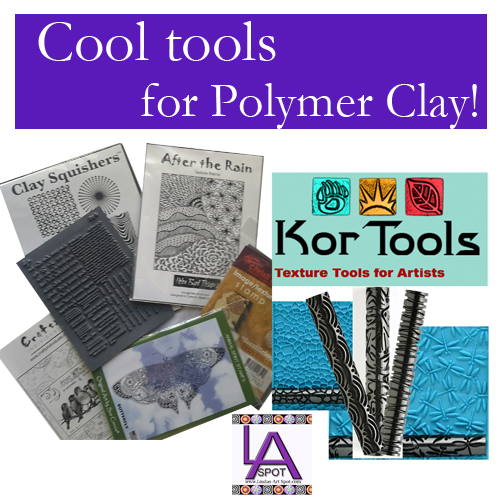 Cool tools for Polymer clay