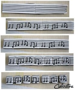 Musical bracelet
