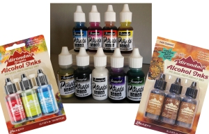 What brand of ink should I use, Comparing Ranger Adirondack Alcohol
