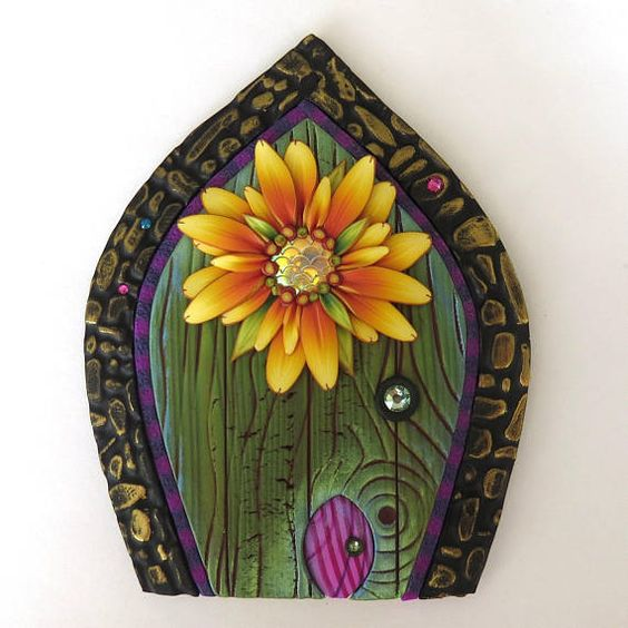 ... the wonders of a fairy house door and other enchanted doors in ...  sc 1 st  Enterclass.info & 100+ [ House Doors ] | Vinyl Carriage House Garage Doors Ron ... pezcame.com