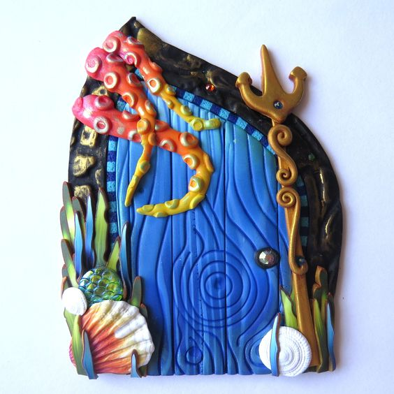 Although it seems she only has 1 door currently available for purchase you should definitely check out her work on her Etsy site oh yes and be sure to ... & The wonders of a fairy house door and other enchanted doors in ... pezcame.com