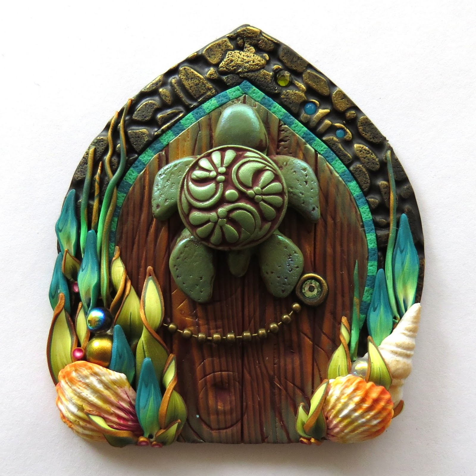 Although it seems she only has 1 door currently available for purchase you should definitely check out her work on her Etsy site oh yes and be sure to ...  sc 1 st  Linda\u0027s Art Spot : clay door - pezcame.com